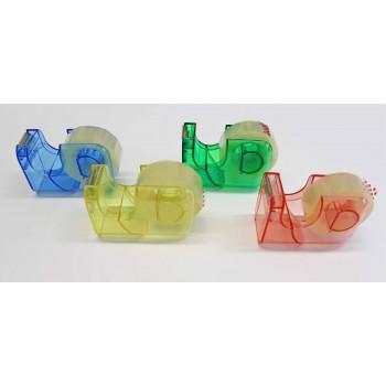Handabroller Kunststoff farbig