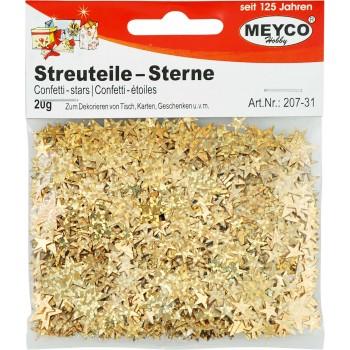 Streuteile Sterne Meyco gold