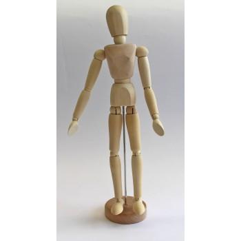 Gliederpuppe Holz, weiblich
