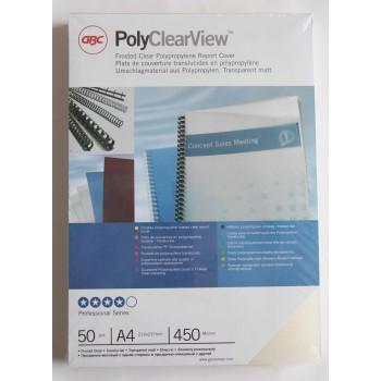 Folie Poly Clear matt A4...