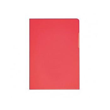 Sichthüllen glatt rot A4,...
