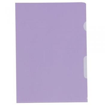 Sichthüllen glatt violett...