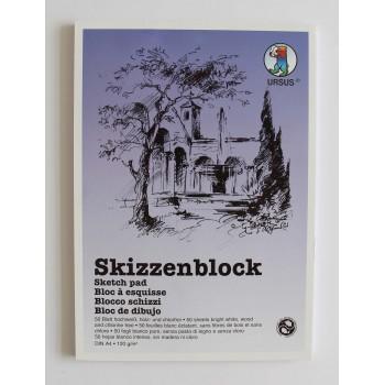 Skizzenblock weiss A4, 120...