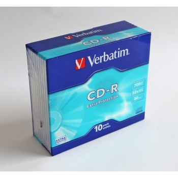 CD-R Recordable 700MB à 10