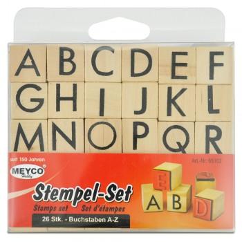 Stempel-Set Holz mit 26...