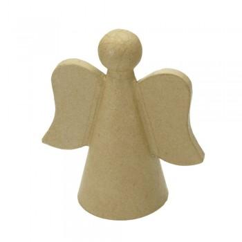 Engel aus Karton, Höhe 12cm