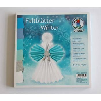 Faltblätter Winter, 100...
