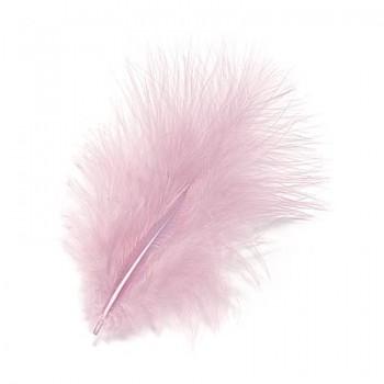 Marabufedern 8 - 10cm, rosa
