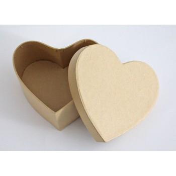 Kartonschachtel Herz