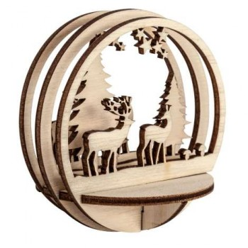 Holz-Steckteile Plexiglask....