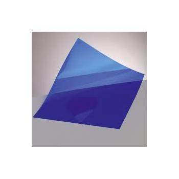Windradfolie transparent, blau