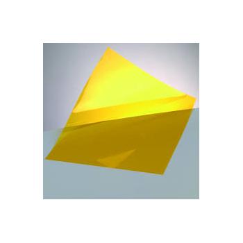 Windradfolie transparent, gelb