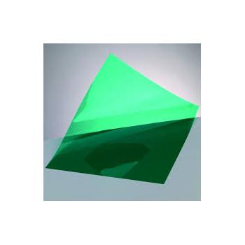Windradfolie transparent, grün