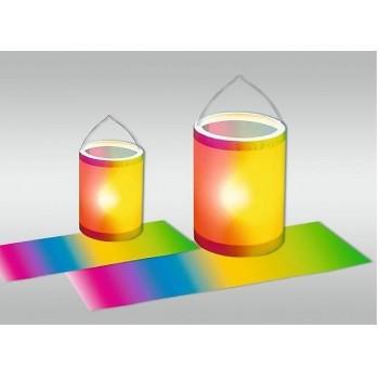 Regenbogen-Transparentpapie...
