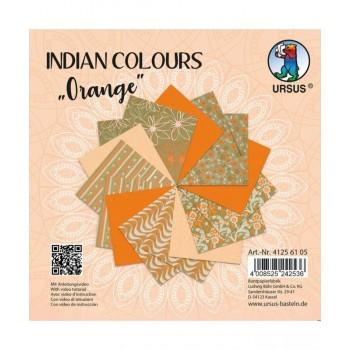 Indian Colours orange, 15...