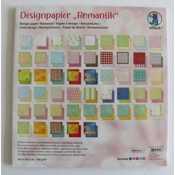 Designpapier Romantik, 50...