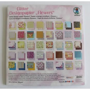 Designpapier Flowers, 40...