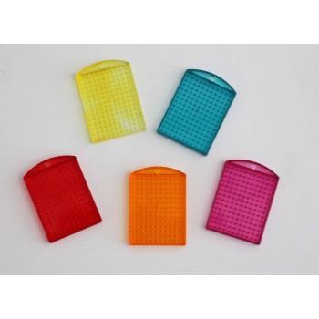 Pixel Medaillon farbig...