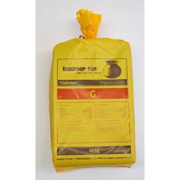 Bodmer-Ton gold, Sack à 20 Kg.