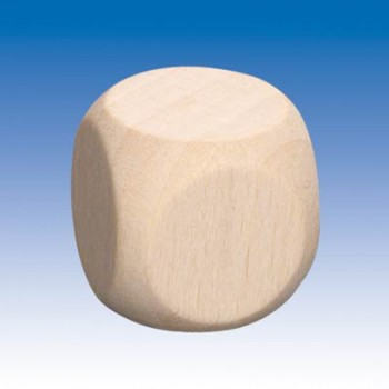 Würfel Holz natur, Ecken...