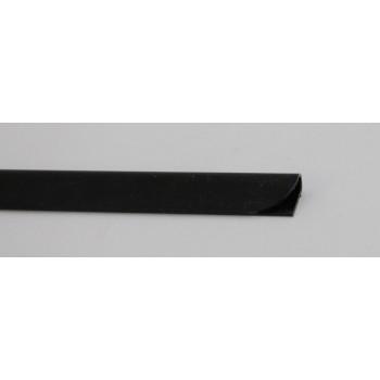 Klemmrücken 3mm, schwarz
