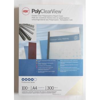 Folie Poly Clear matt A4 0.3mm