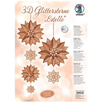 3D Glittersterne Estelle,...