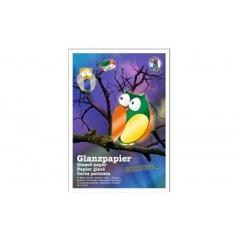 Glanzpapier-Sortiment, 23 x...