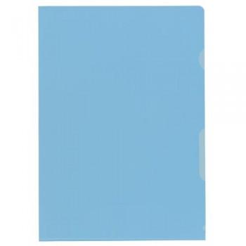 Sichthüllen glatt blau A4,...