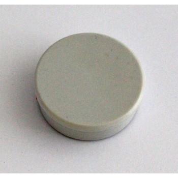 Magnete rund stark 38mm, grau