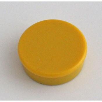 Magnete rund stark 38mm, gelb