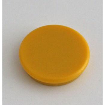 Magnete rund 32mm, gelb