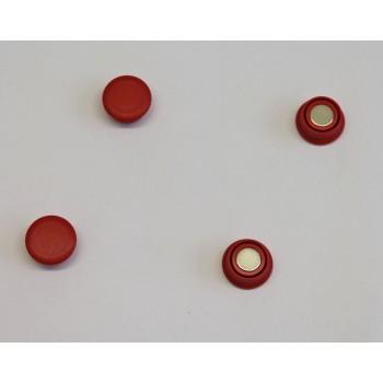 Magnete rund stark 20mm, rot