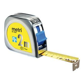 Rollmeter, Stahlband gelb,...