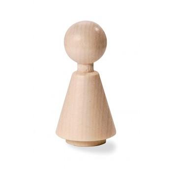 Holzpuppen 47mm, Mädchen