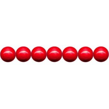 Holzkugeln 4mm mit Loch, rot