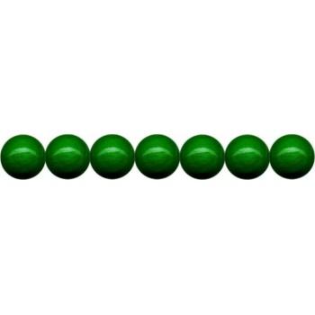 Holzkugeln 4mm mit Loch, grün