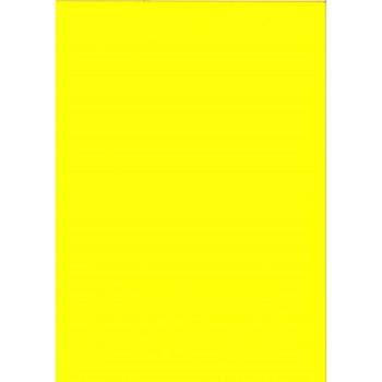 Moosgummi 3mm, gelb
